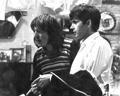 DAVID ESSEX AND  ALAN PARKER ON SET ON 'THAT'LL BE THE DAY'