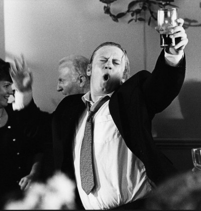 Andrew Strong in scene from The Commitments