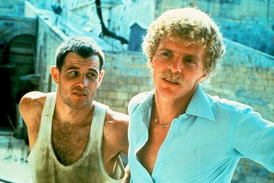 Brad Davis and Billy Hayes on set of Midnight Express 6A---Rosas0112-copy