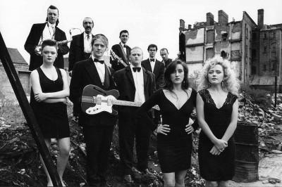 The Commitments cast - Scene from the film The Commitments