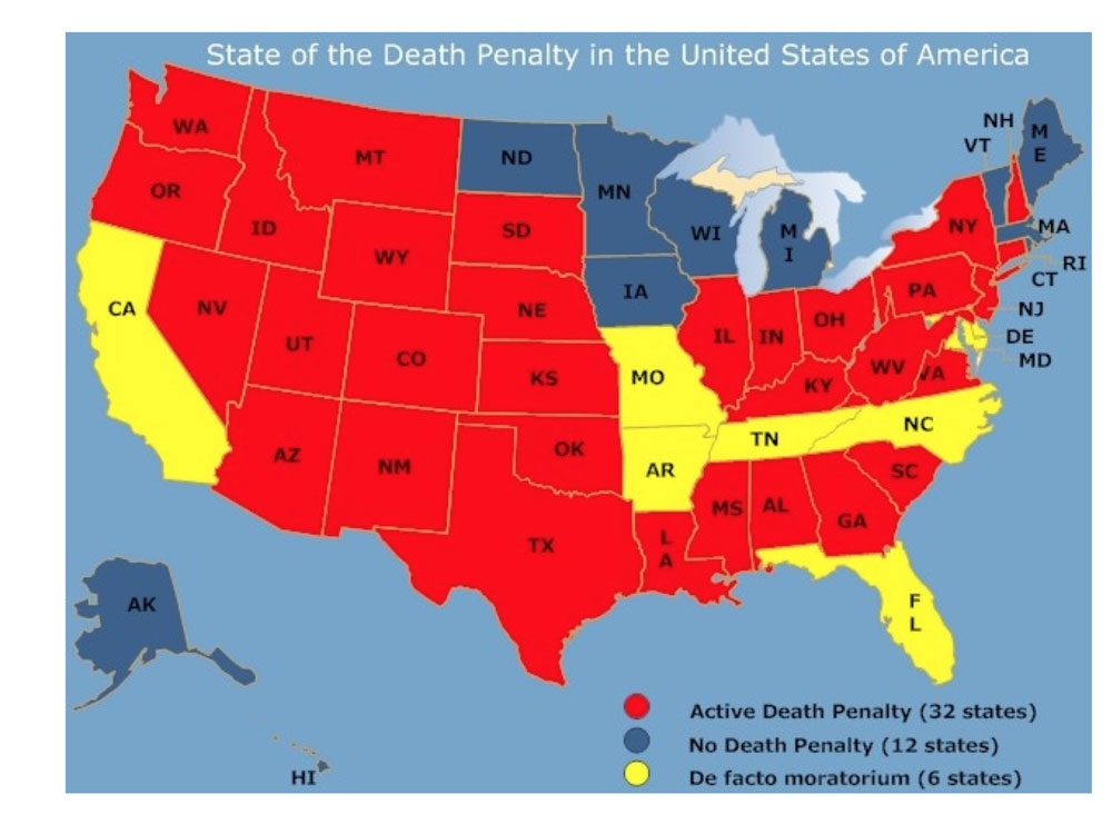 a study of capital punishment in the united states of america Among these groups were: a california-based citizens against legalized murder, the ohio committee to abolish capital punishment, the new jersey council to abolish capital punishment, california's people against capital punishment, the new york committee to abolish capital punishment, the oregon council to abolish the death penalty, and the national committee to abolish the federal death penalty.
