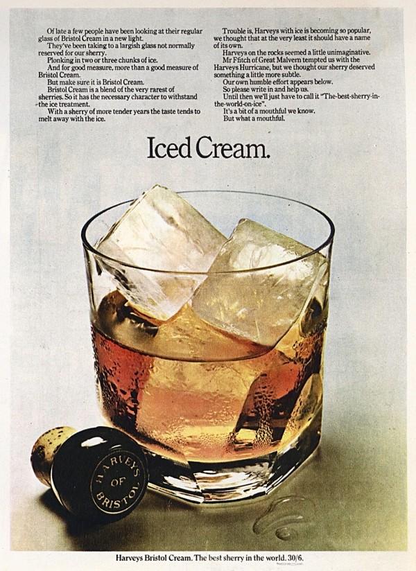 Alan Parker Harvey's Bristol Cream ad  for CDP 1967 -