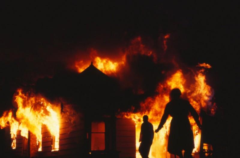 Scene from the film Mississippi Burning