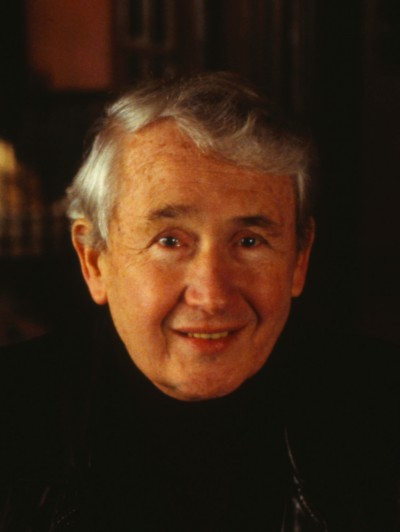Frank McCourt, photo on set of Angela's Ashes film