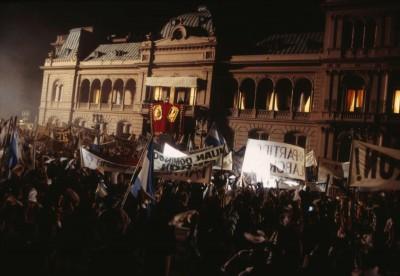Scene from the film Evita, The Casa Rosada Buenos Aires