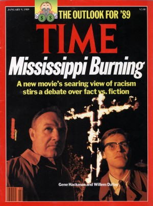 Time Magazine, Mississippi Burning, Gene Hackman and Willem Dafoe