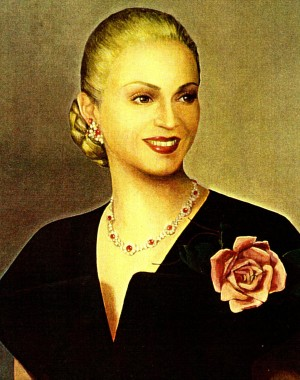 Madonna as Eva Peron from the film Evita