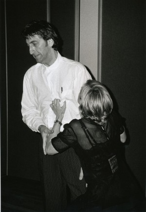 Jimmy Nail and Madonna from the film Evita