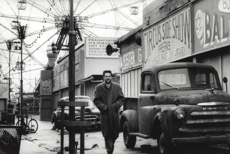 Mickey Rourke in Angel Heart, Coney Island