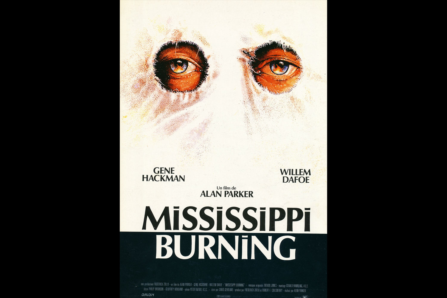 french poster for mississippi burning alan parker director  french poster for mississippi burning
